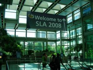 SLA 2008 Seattle