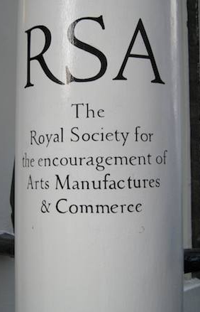 RSA Entrance - photo John Naughton - http://memex.naughtons.org/archives/2009/03/11/6943