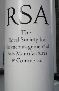 RSA Entrance - photo John Naughton - http://memex.naughtons.org/archives/2009/03/11/6943