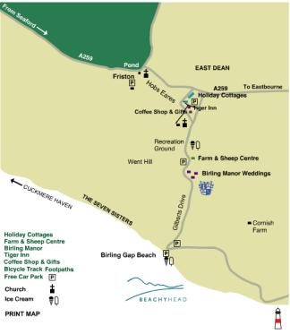 Beach Head Map 1