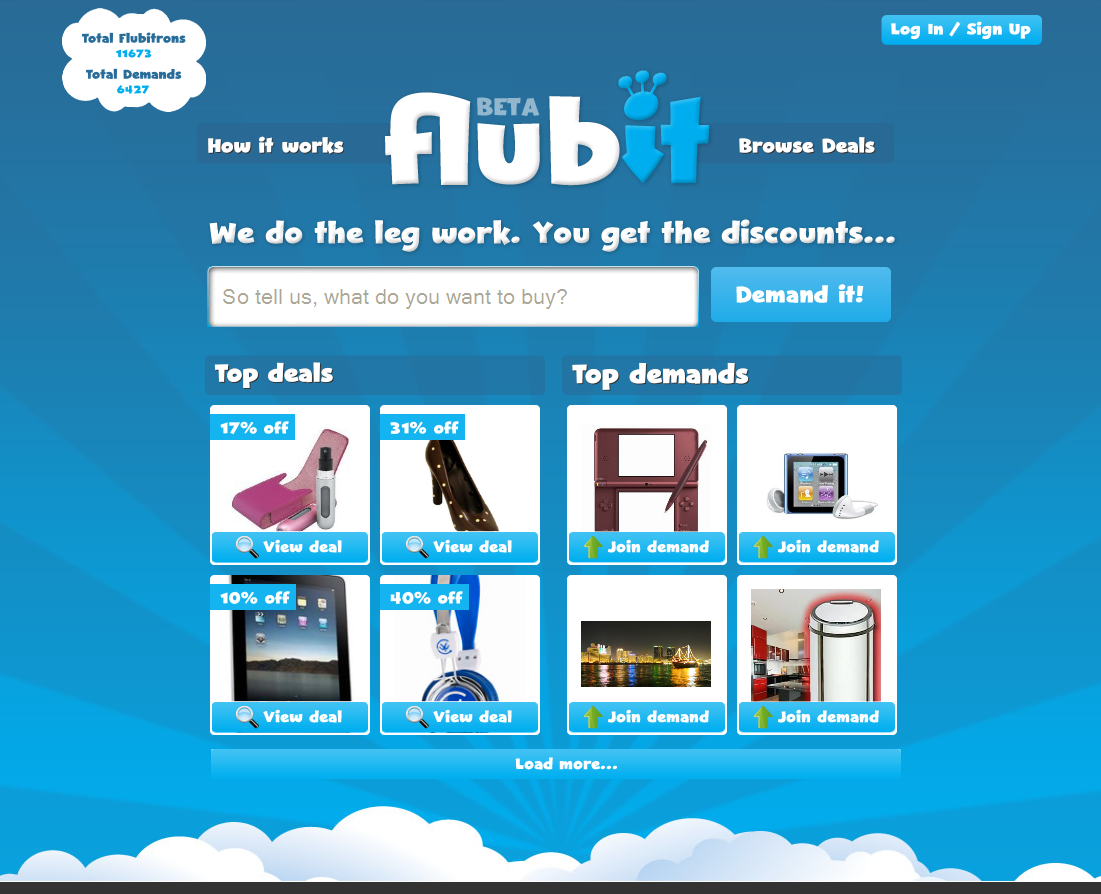 Flubit_com_screen_shot